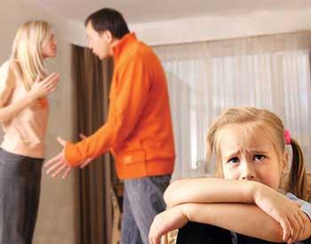 هماهنگ شدن زن وشوهر برسر تربیت فرزند
