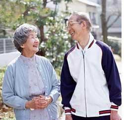 داشتن زندگی سالم و شاد در دوران سالمندی