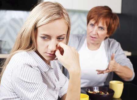 دخالت خانواده همسر