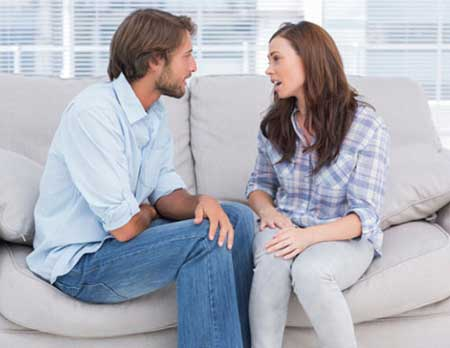 چگونه در مورد مسائل جنسی با شوهر مان حرف بزنیم؟
