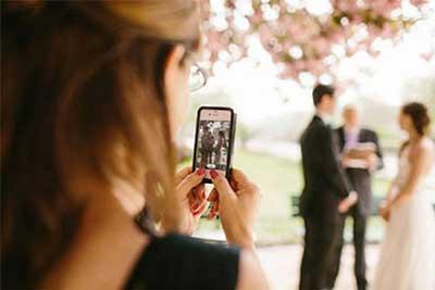 حریم خصوصی در مراسم عروسی