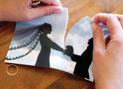 مشکلات جنسي و طلاق