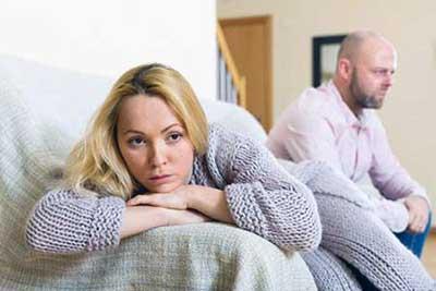 ترس از رابطه زناشويي در بعضي زنان