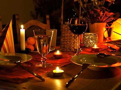 شام عاشقانه