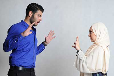 راه حل دعواهای زناشویی
