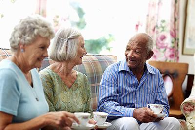 روحیه دادن به سالمندان