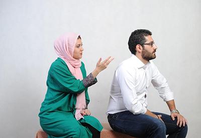 مشاجرات همسران