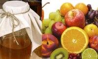 تهیه سرکه میوه, طرز درست کردن سرکه میوه