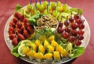 عکس های جدید از تزئین سبد میوه شب یلدا