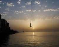 عکسهای جالب,عکسهای جذاب,پرش با طناب